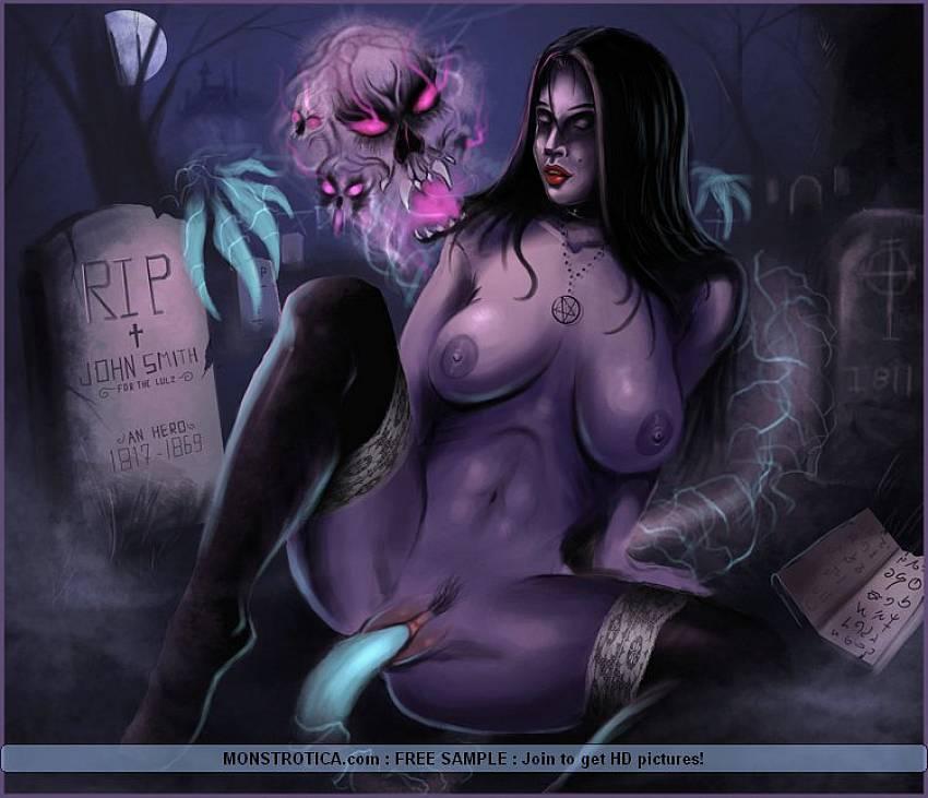 монстры порно с нежитью фото