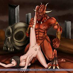 Anime demons.