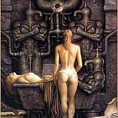 Erotic scifi art picture gallery.