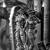 Horror mummies of Pharaohs temple.