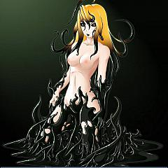 Anime artworks.